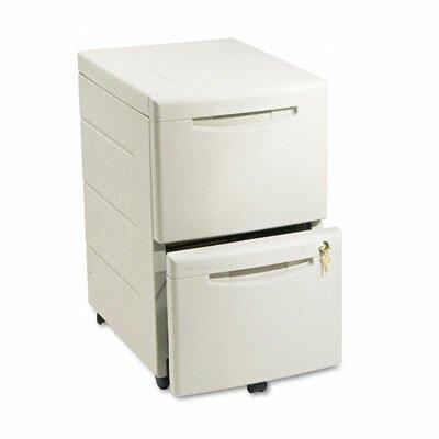 28 H x 16.5 W Desk File Pedestal Finish: Platinum