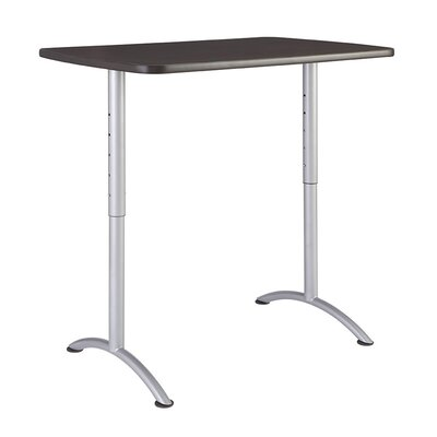 Curved end 48H x 30W x 48L Conference Table