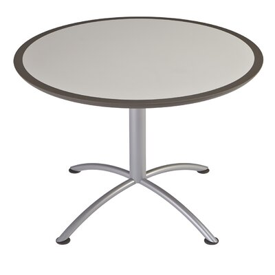 iLand Circular Conference Table Top Finish: Gray, Size: 29 H x 42 W x 42 D