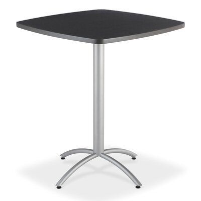 CafeWorks Pub Table Top Finish: Graphite Granite