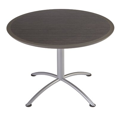 iLand Circular Conference Table Top Finish: Walnut, Size: 29 H x 42 W x 42 D