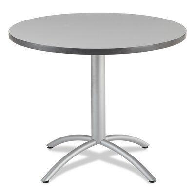 CafeWorks Dining Table Top Finish: Gray