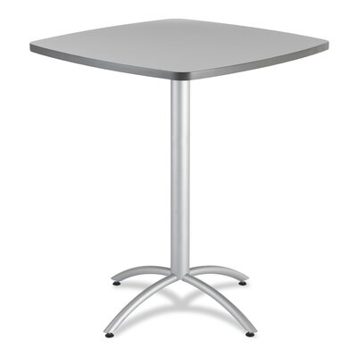 CafeWorks Pub Table Top Finish: Gray