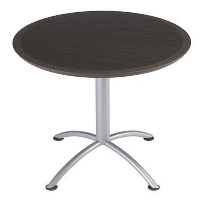 iLand Circular Conference Table Top Finish: Walnut, Size: 29 H x 36 W x 36 D