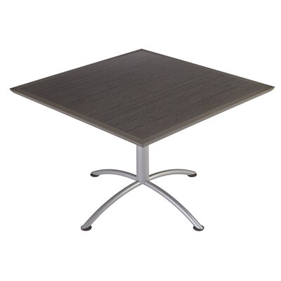 iLand Square Conference Table Top Finish: Walnut, Size: 29 H x 42 W x 42 D