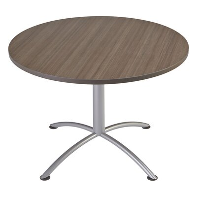 iLand 29 Round Contour Round Seated Style Table Size: 29 H x 42 W x 42 D