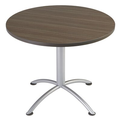 iLand 29 Round Contour Round Seated Style Table Size: 29 H x 36 W x 36 D