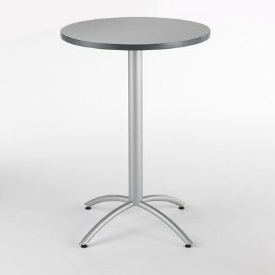 CafeWorks Pub Table Color: Gray