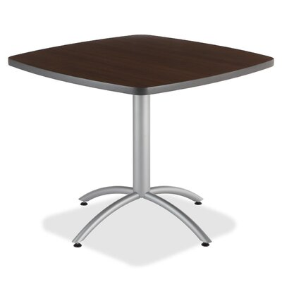 36 Cafe Table Top Finish: Walnut