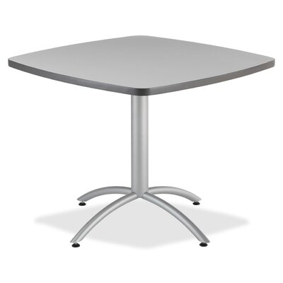 36 Cafe Table Top Finish: Gray