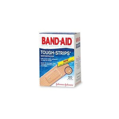 "Johnson & Johnson X 3 1/4"" BAND-AID� Touch Strips? Waterproof Bandages (20 Per Box) at Sears.com"