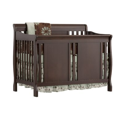 Verona Fixed Side Convertible Crib Finish: Espresso 04587-489