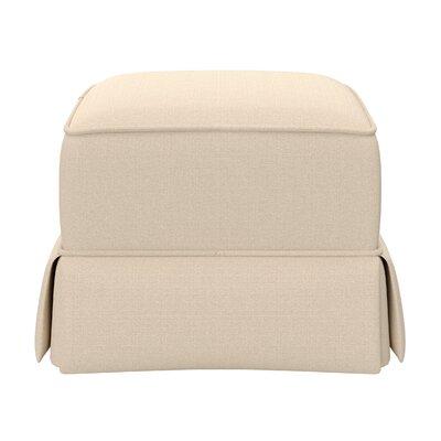 Avalon Upholstered Ottoman Upholstery: Desert Sand