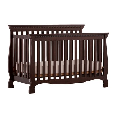 Venetian Fixed Side Convertible Crib Finish: Espresso 04587-139