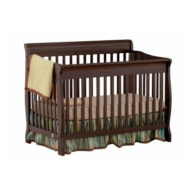 Modena Fixed Side Convertible Crib Finish: Espresso 04587-459