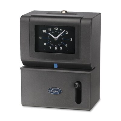 Manual Time Clock Day Of Week Hours Minute Product Photo 1234
