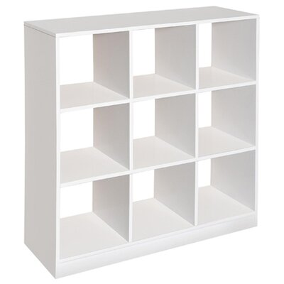 37 Cube Unit Bookcase Finish: White