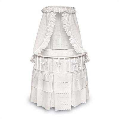 Badger Basket Elegance Bassinet with Bedding 827