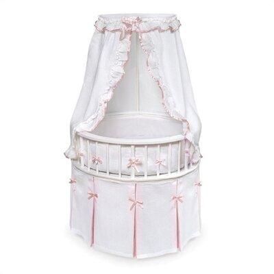 Badger Basket Elegance Bassinet with Bedding 836