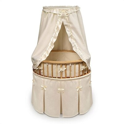 Badger Basket Elite Bassinet with Waffled Bedding 855
