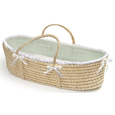 Badger Basket Moses Basket with Waffle Bedding 883