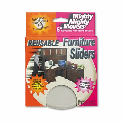 Mighty Mighty Movers Furniture Sliders, 4/Pack