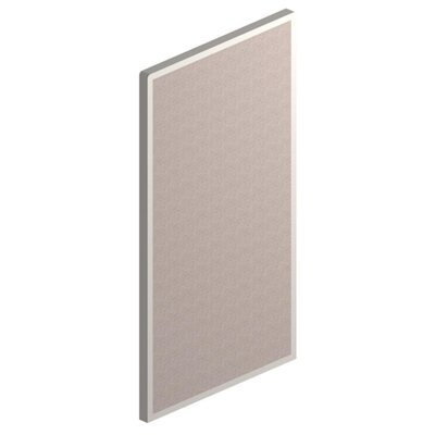 Parallel Panel, 66Wx36D, Gray
