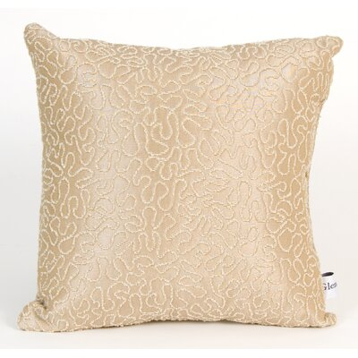 Central Park Coral Throw Pillow