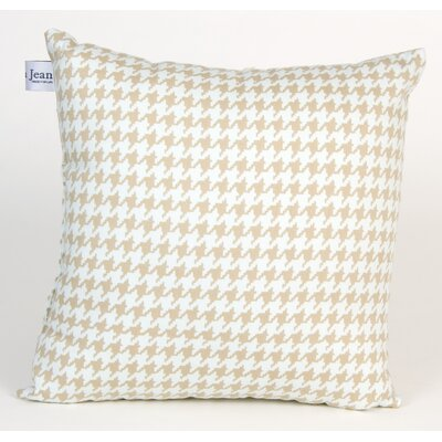 Central Park Houndstooth Check Throw Pillow