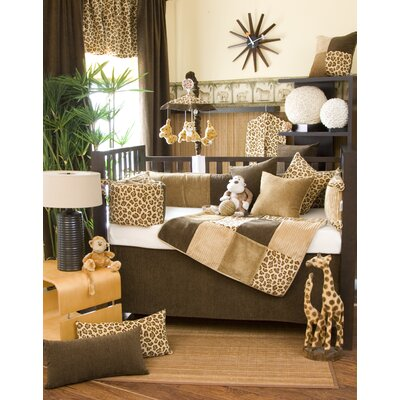 Tanzania Crib Bedding Collection-Tanzania Cheetah Print Fabric