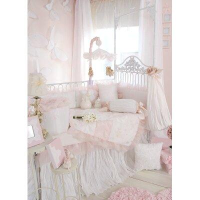 low price glenna jean little diva crib bedding collection rosebud heart wreath