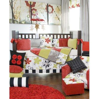 low price glenna jean mckenzie crib bedding collection mckenzie garden frog wall art