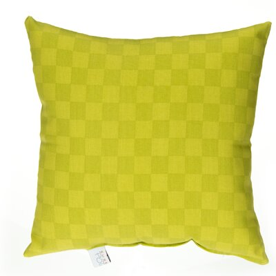 North Country Check Cotton Throw Pillow