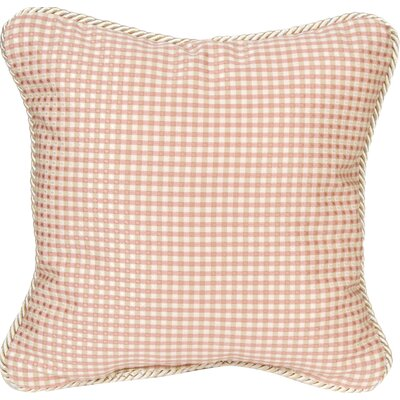 Madison Check Throw Pillow