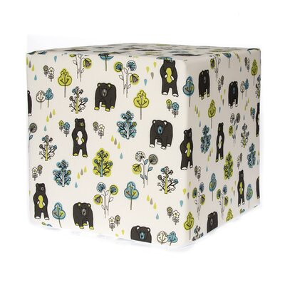 North Country Bears Cube Ottoman