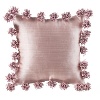 Robb Pink Throw Pillow