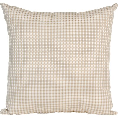 Central Park Check Throw Pillow