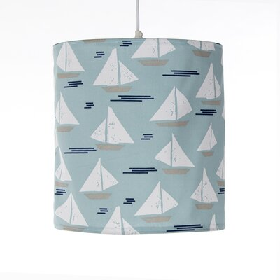 Linen Drum Pendant Shade