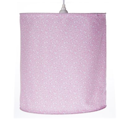 Stella 14 Cotton / Polyester Drum Pendant Shade