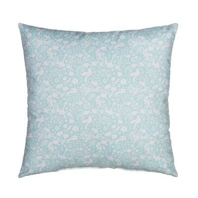 Flossie Polyfill Standard Pillow Color: Blue