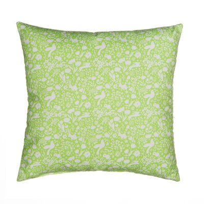 Flossie Polyfill Standard Pillow Color: Green