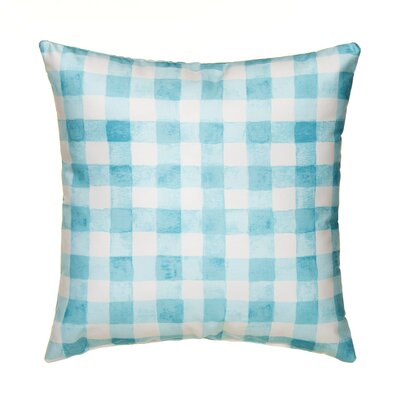 Willow Plaid Throw Pillow