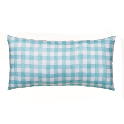 Willow Plaid Lumbar Pillow