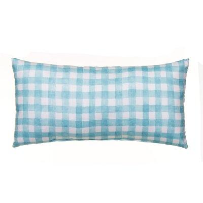 Willow Plaid Lumbar Pillow