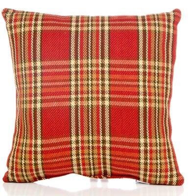 Dunecrest Plaid Cotton Throw Pillow