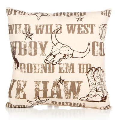 Dunecrest Cotton Throw Pillow