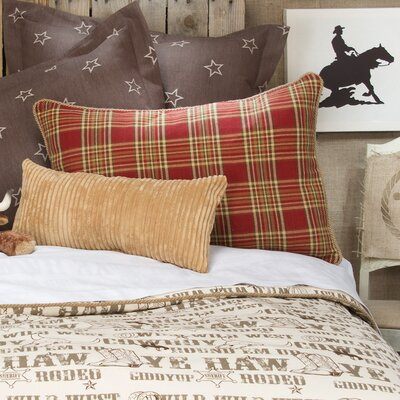 Dunecrest Plaid Sham