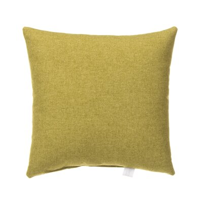 Erasmos 100% Cotton Throw Pillow Color: Green