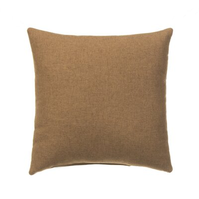 Erasmos 100% Cotton Throw Pillow Color: Brown