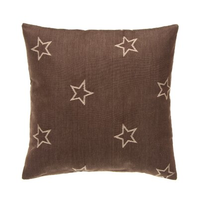 Erasmos Stars 100% Cotton Throw Pillow